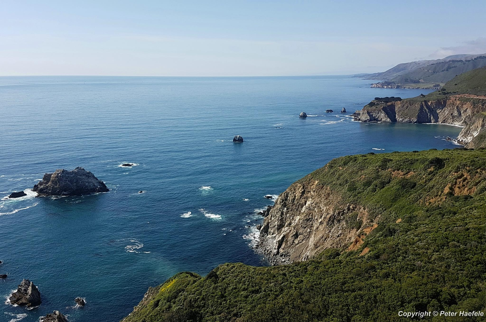 Hurricane Point - Big Sur - Pacific Coast Highway One - Kalifornien