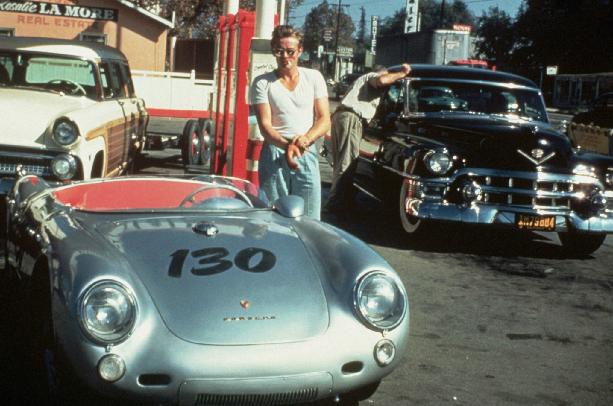 James Dean - Porsche 550 Spyder - Little Bastard - Last Photo