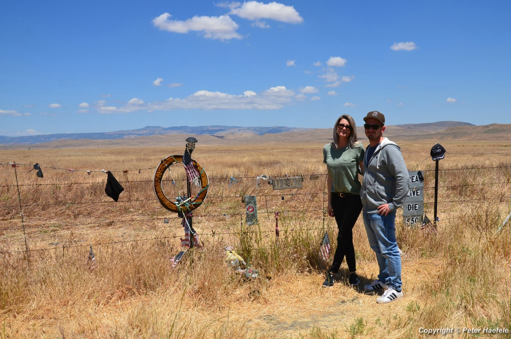 James Dean Memorial Junction - Cholame - California