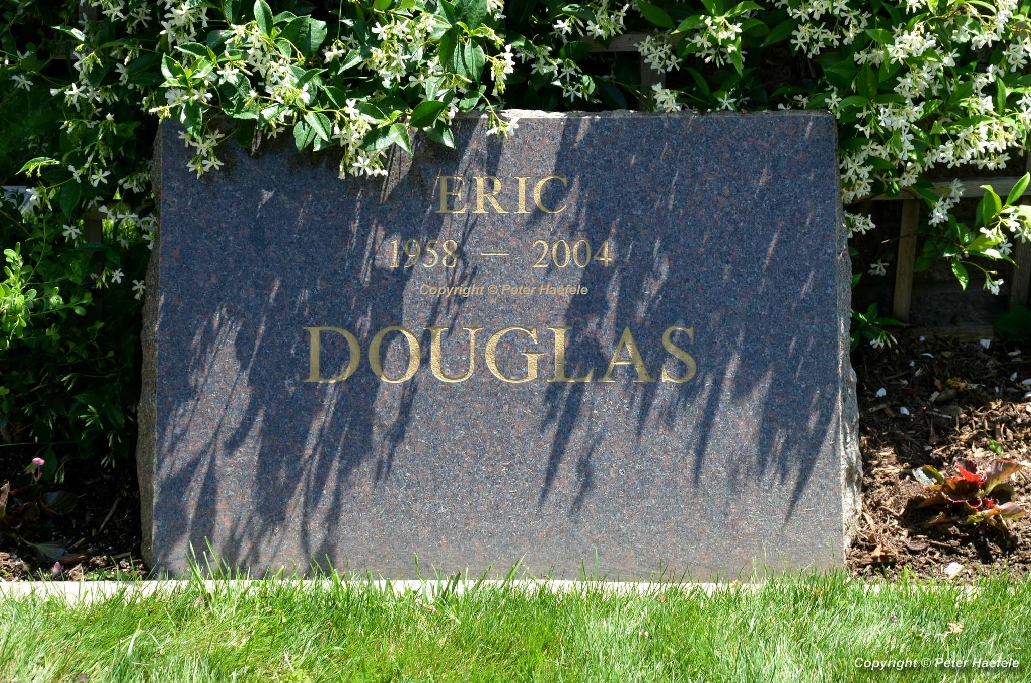 Roadtrip USA - Westwood Village Memorial Park Cemetery - Grave of Eric Douglas