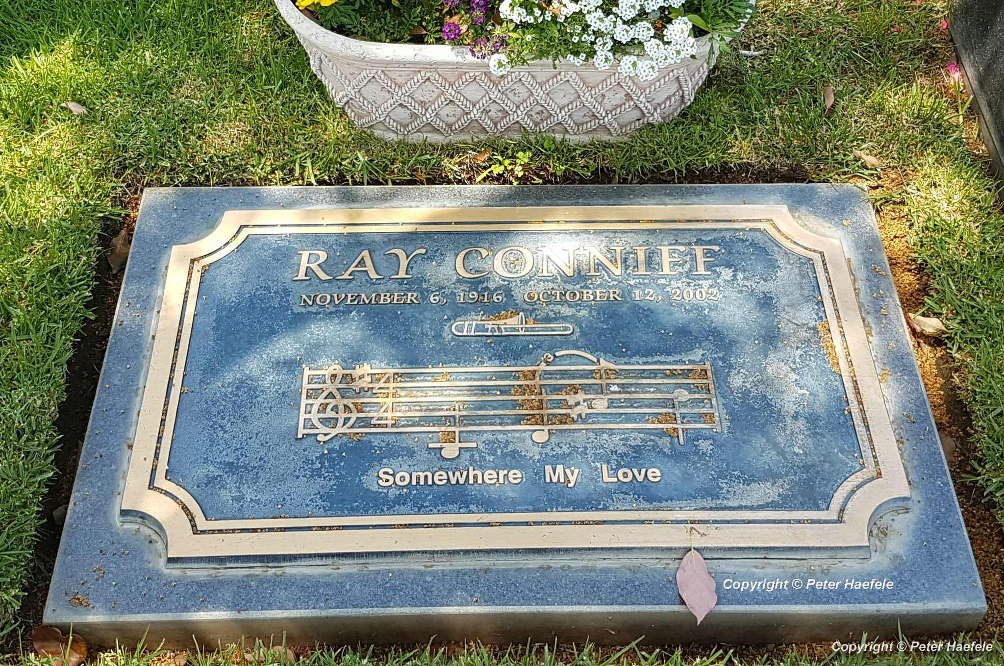 Roadtrip USA - Westwood Village Memorial Park Cemetery - Grave of Ray Conniff