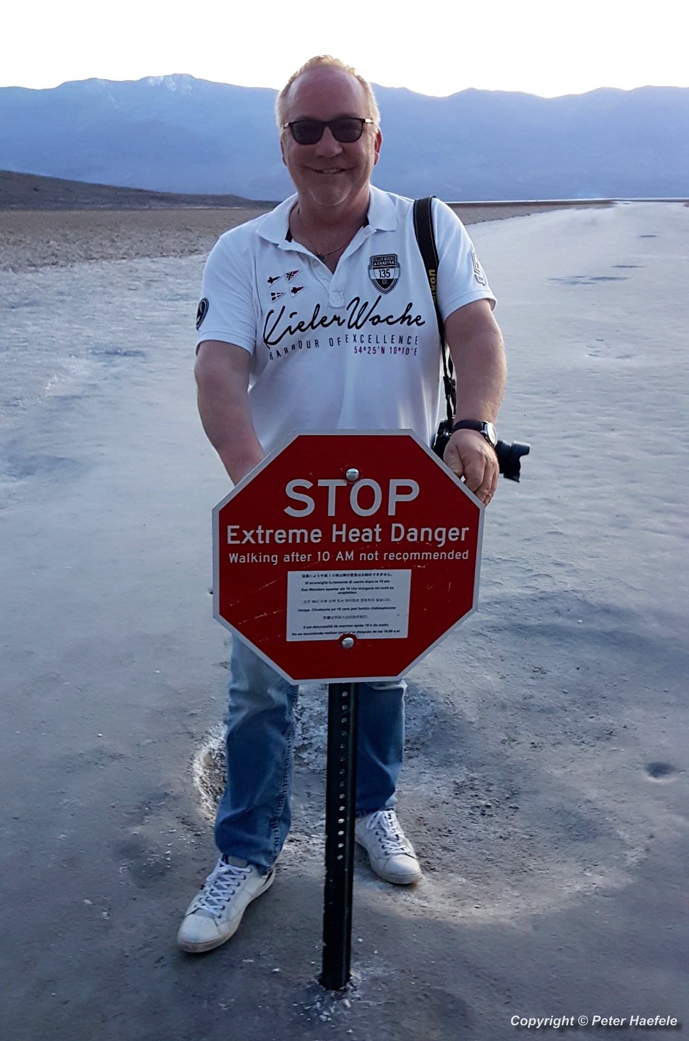 Roadtrip USA - Death Valley - Tal des Todes - Badwater Basin