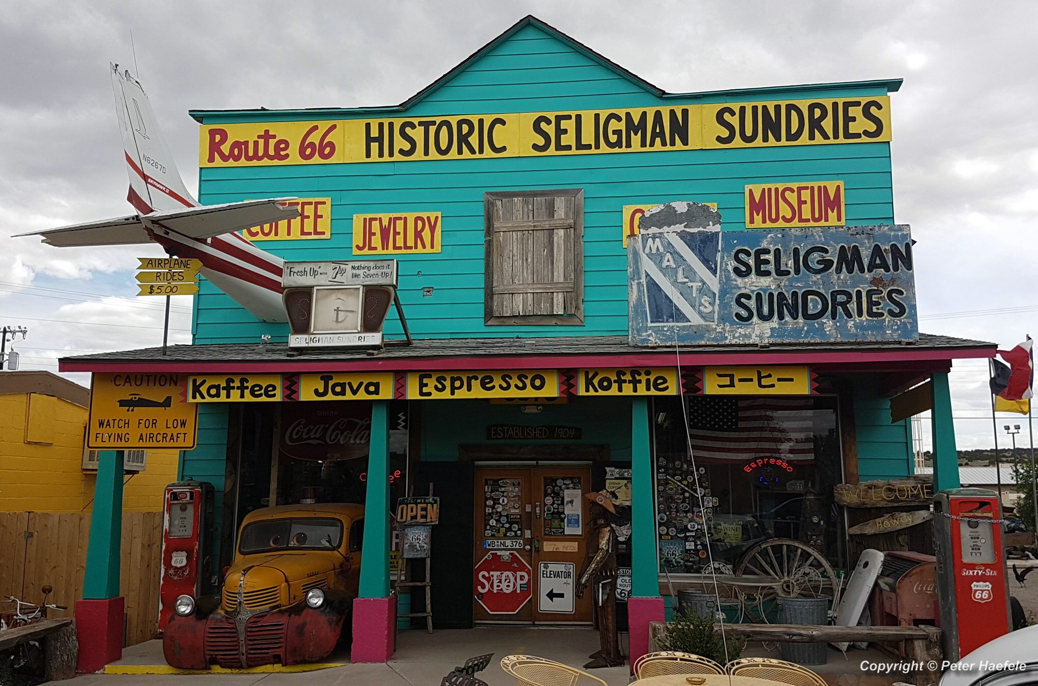 Roadtrip USA - Seligman - Birthplace of Historic Route 66