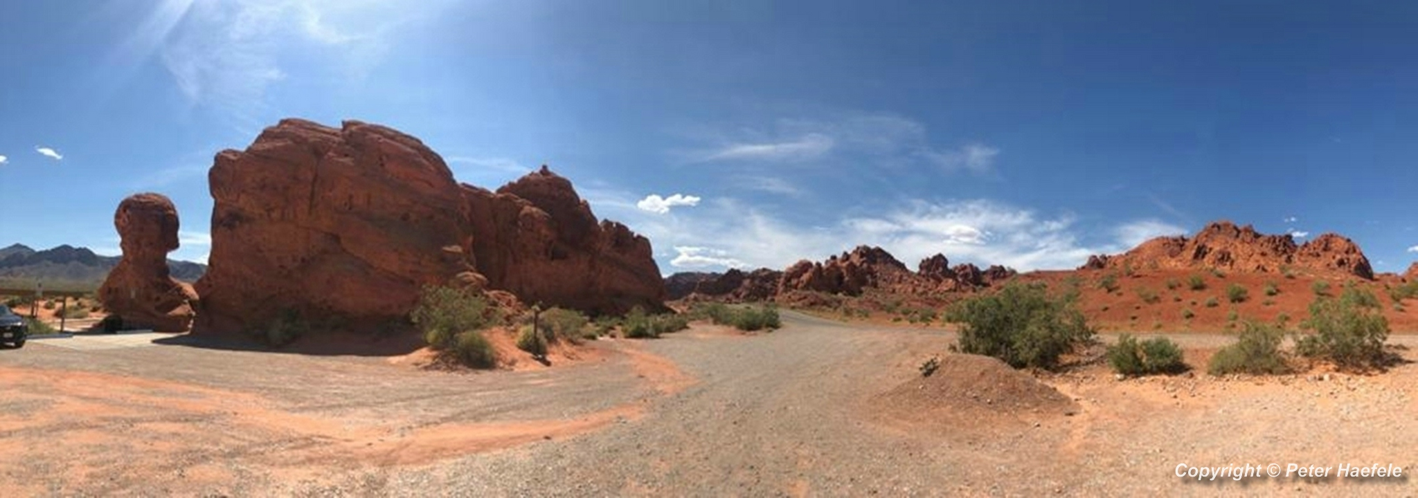 Roadtrip USA - Valley of Fire State Park - Nevada - Panorama