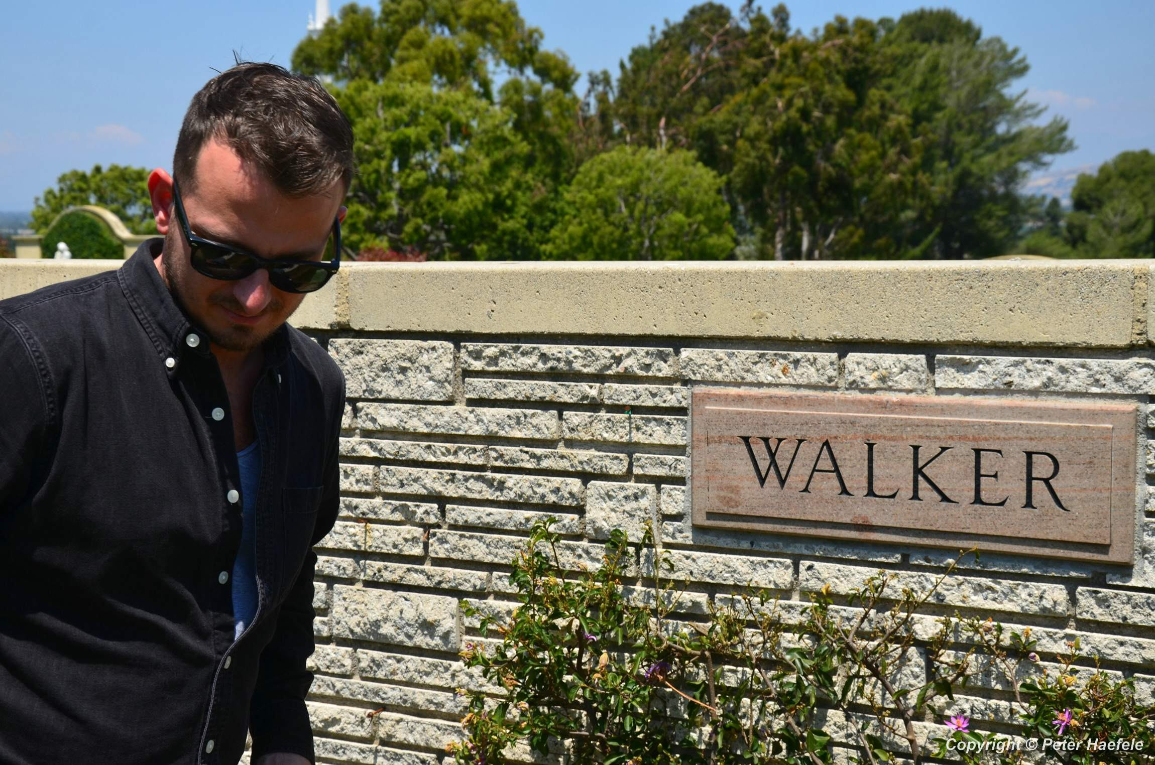 Grab von Paul Walker - Forest Lawn Hollywood Hills - © Peter Haefele Fotografie